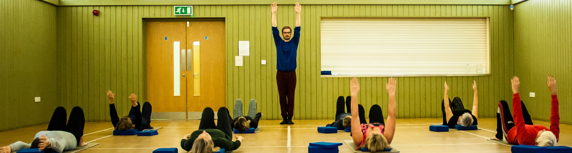 Julian Askham Pilates at Hickling Barn, Norfolk