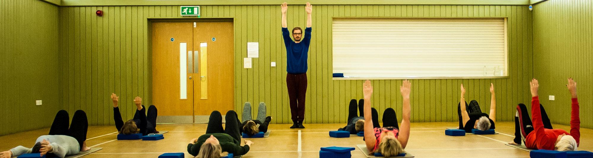 Julian Askham Pilates at Hickling Barn, Norfolk