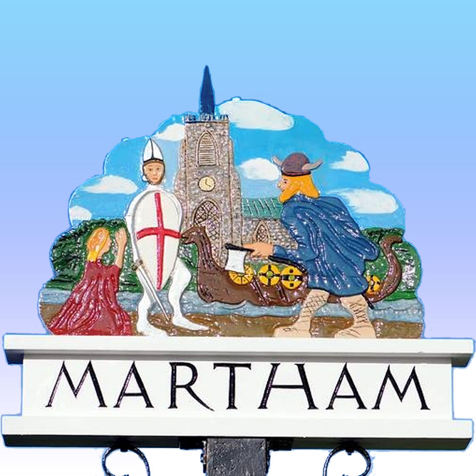 Martham Village sign