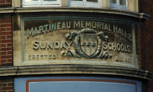 Martineau Memorial Hall, Colegate Norwich