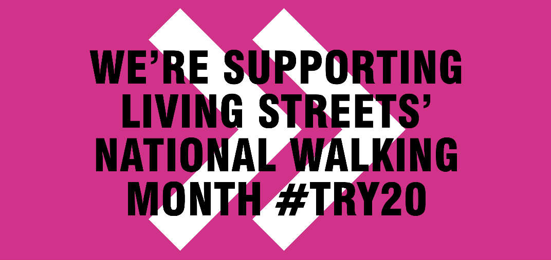 National Walking Month campaign poster
